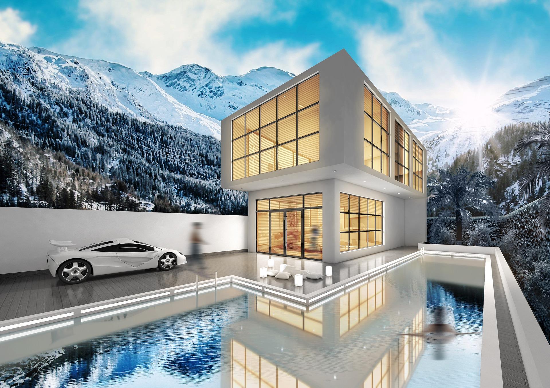 Villa planı