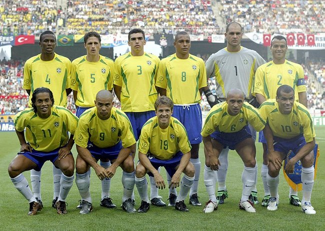 2002 Brezilya kadrosu