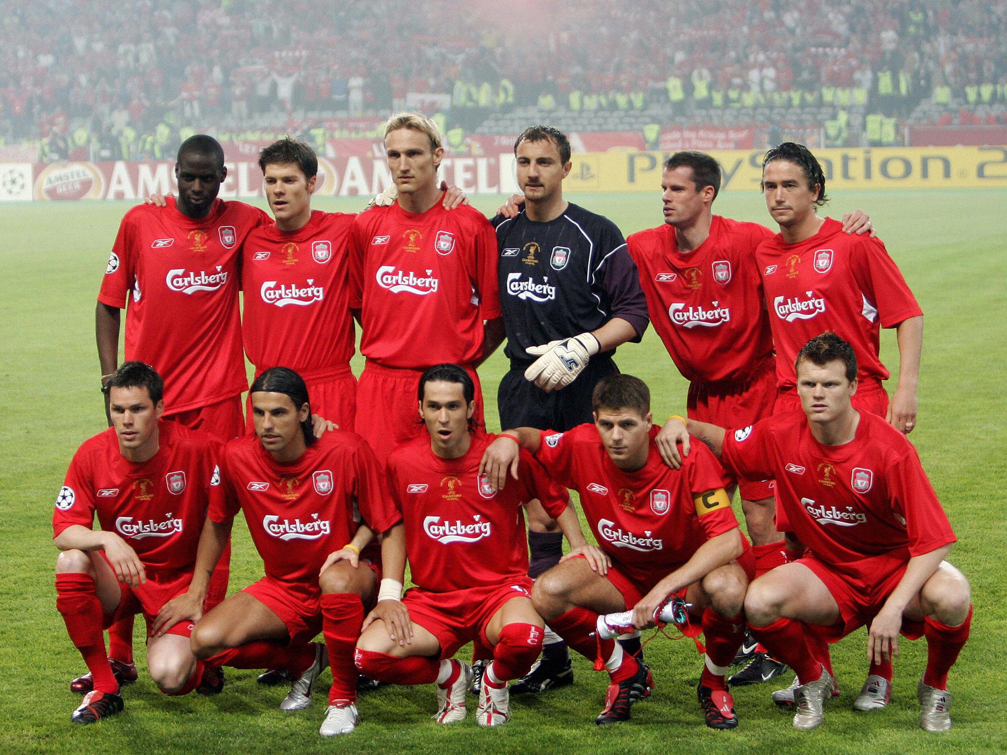 Liverpool kadrosu