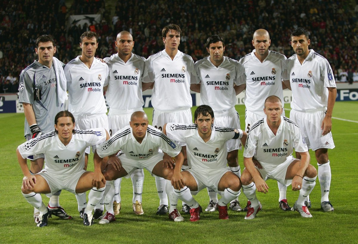 Real Madrid kadrosu