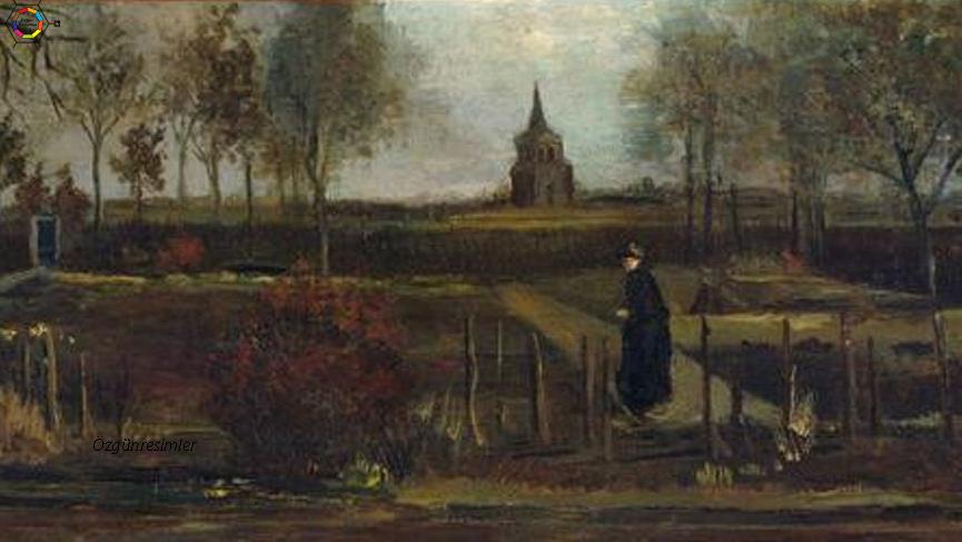van gogh'un resimleri bahar bahçesi tablosu