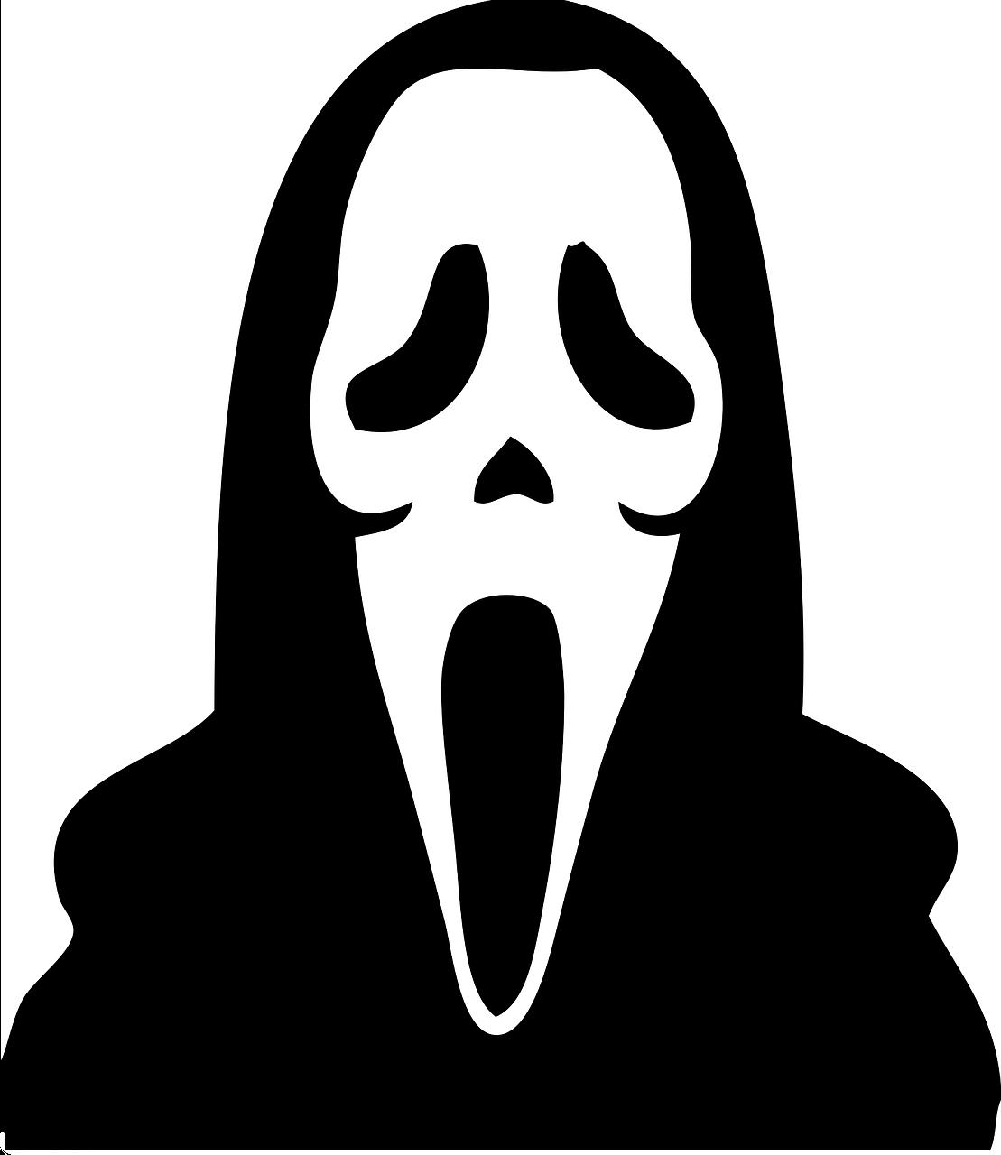 Çığlık filmi maskesi resmi