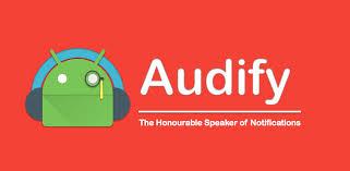Audify uygulama logosu